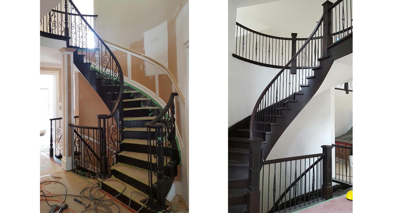 1e Stairsrailings 12 Gillies Lumber