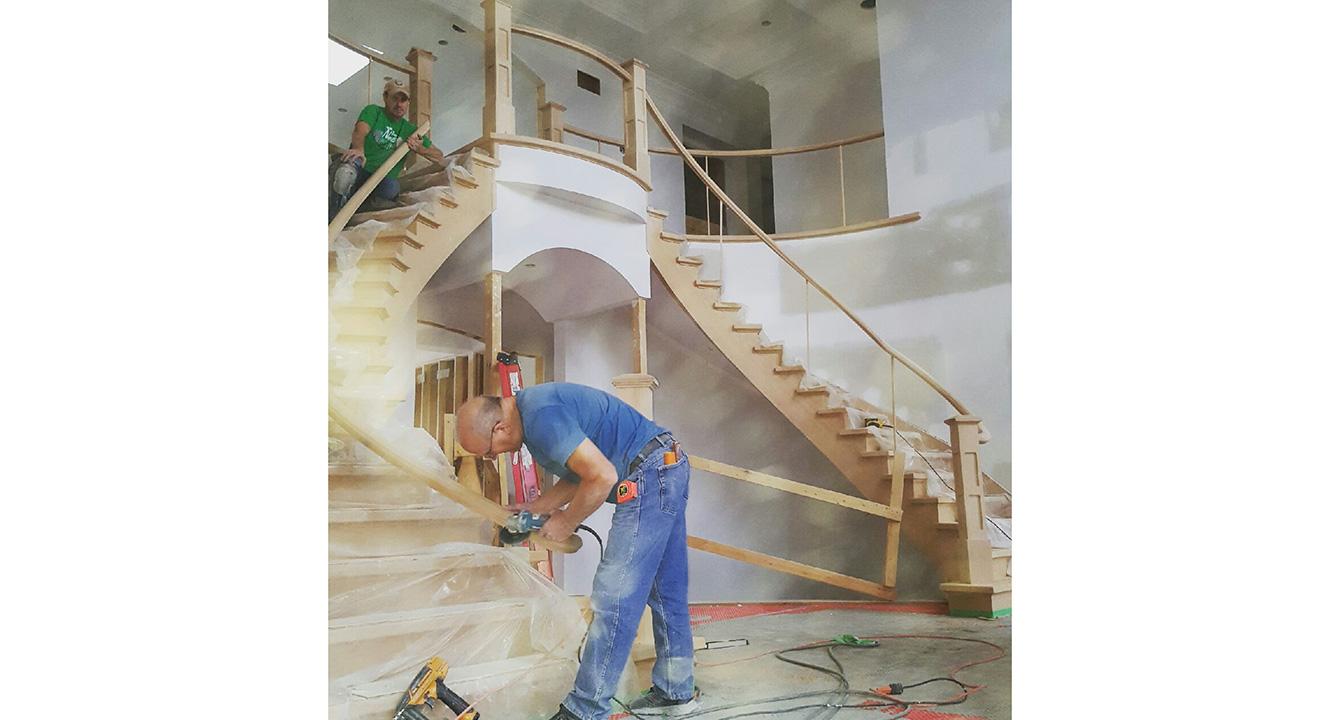 1e Stairsrailings 6 Gillies Lumber